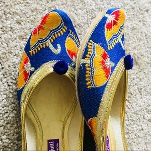 Shoes - Thanksgiving discount ! Royal Blue Umbrella Jutti